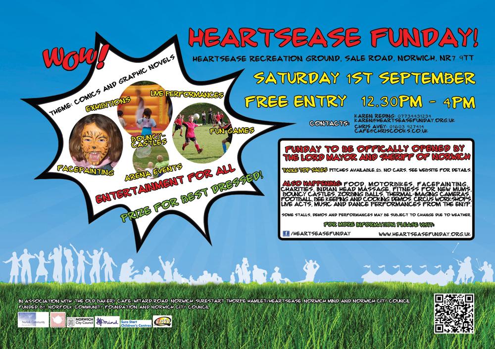 Heartsease Funday Flyer