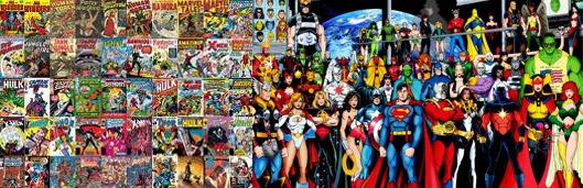Comics and Graphics Novels Theme