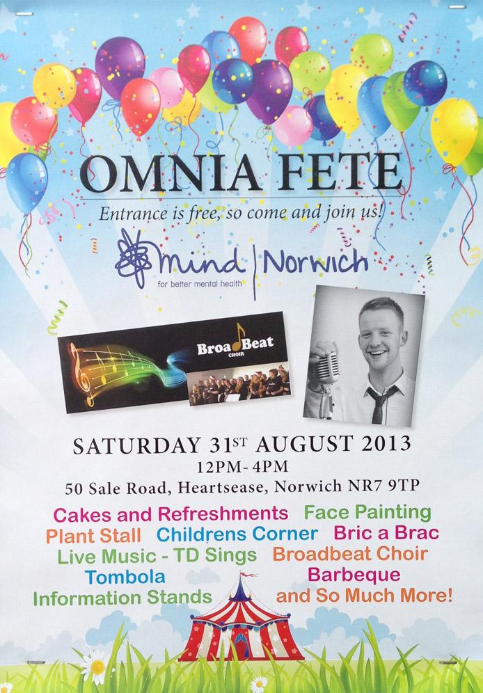 Norwich Mind Omina Fete