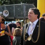 2013 Lord Mayor and City Councillor Alan Waters.