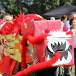 The great dragon that opened the funday - Led by Pam Clarke Music and Dance Academy (Ballet, Tap, Jazz, Modern)