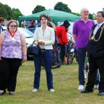 Lady Mayoress, Chloe Smith MP, Alan Waters and Norwich Lord Mayor.