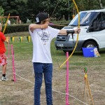 Archery display kindly supplied by Active Norfolk Community Games Grant. http://www.activenorfolk.org/